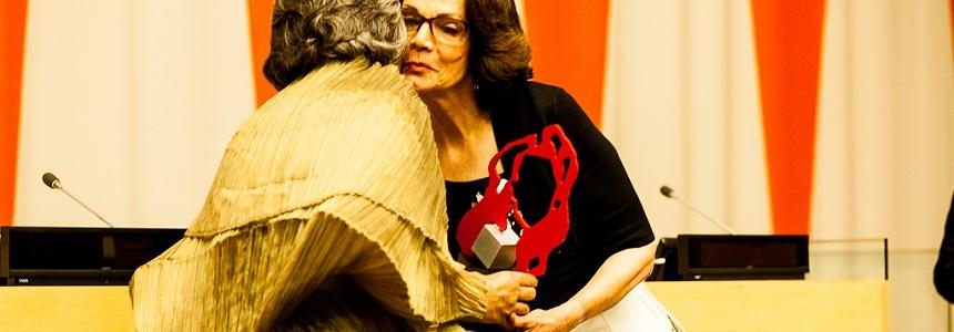 """Fundación Granitos de Paz gana premio """"Women Together"""""""